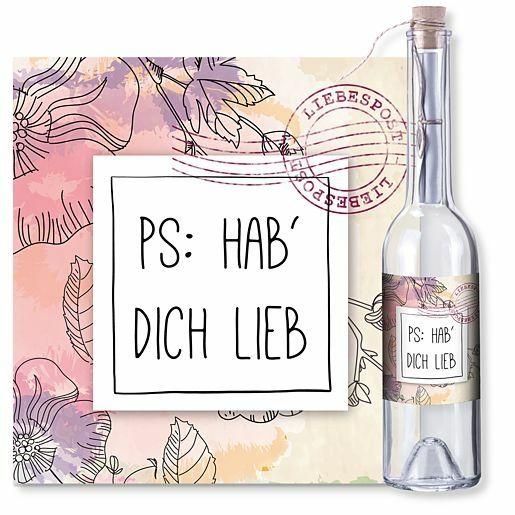 Flaschenpost PS: Hab dich lieb