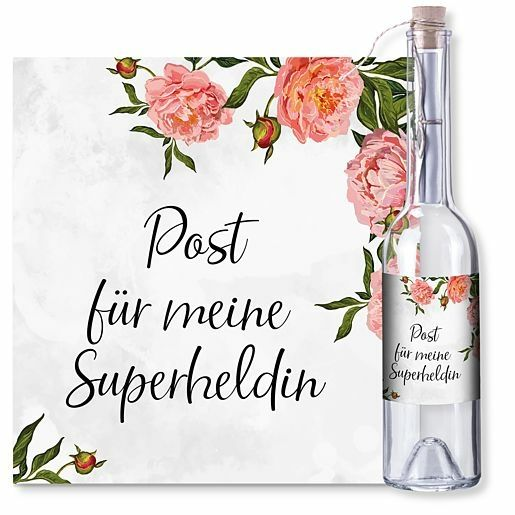 Flaschenpost Superheldin