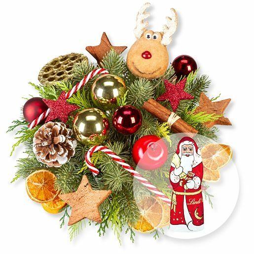 Adventsfreude und Lindt-Weihnachtsmann