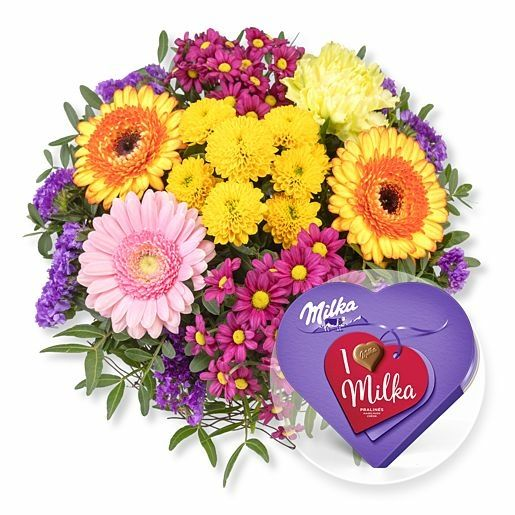Alles Liebe und I love Milka Pralinés