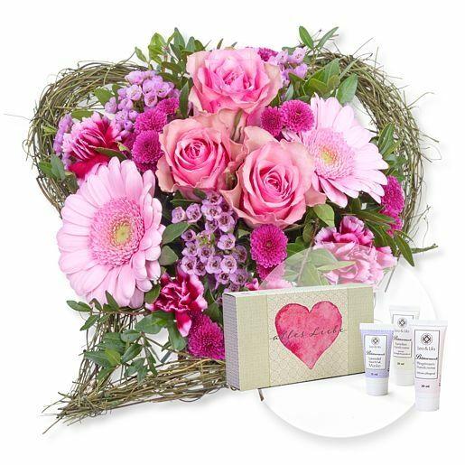 Von Herzen und Handpflegeset Alles Liebe