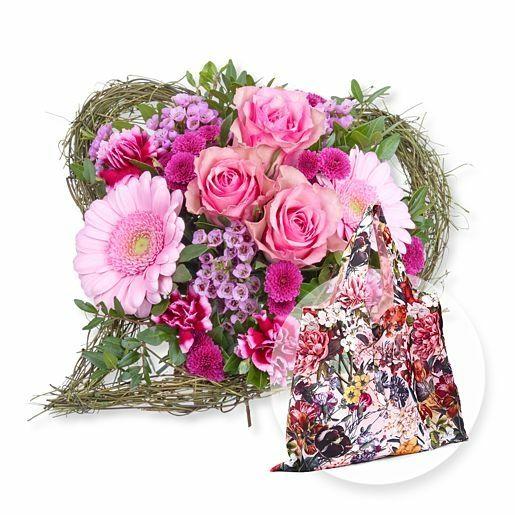 Von Herzen und Easy Bag XL Blumengruß