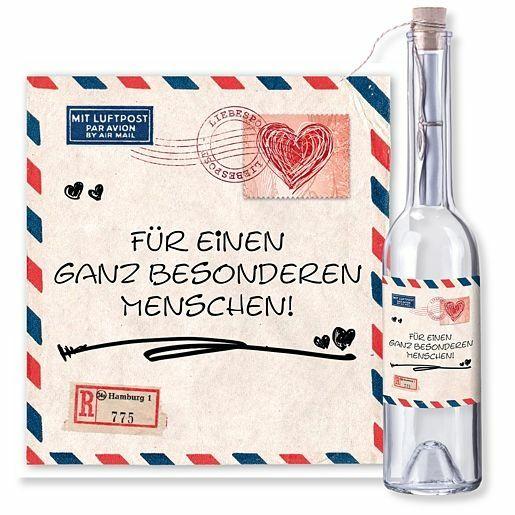 Flaschenpost Airmail