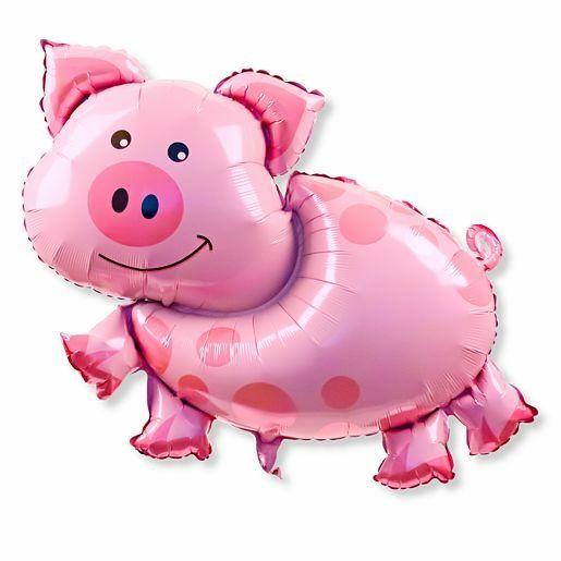 Ballon Glücksschweinchen