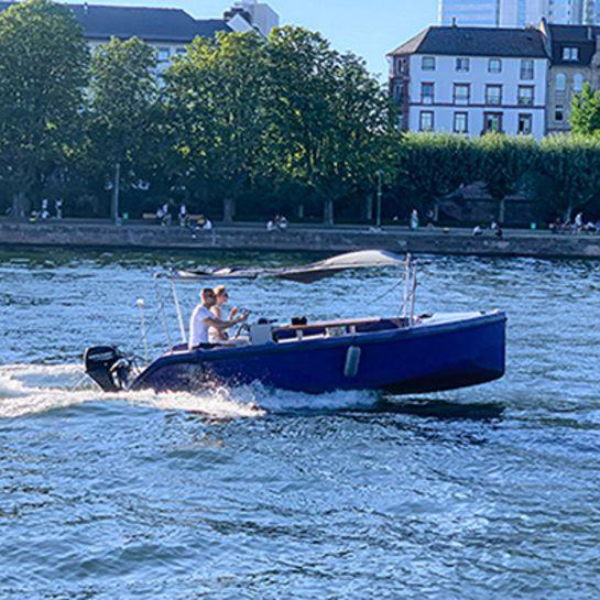 Boot selber fahren Frankfurt am Main für 2