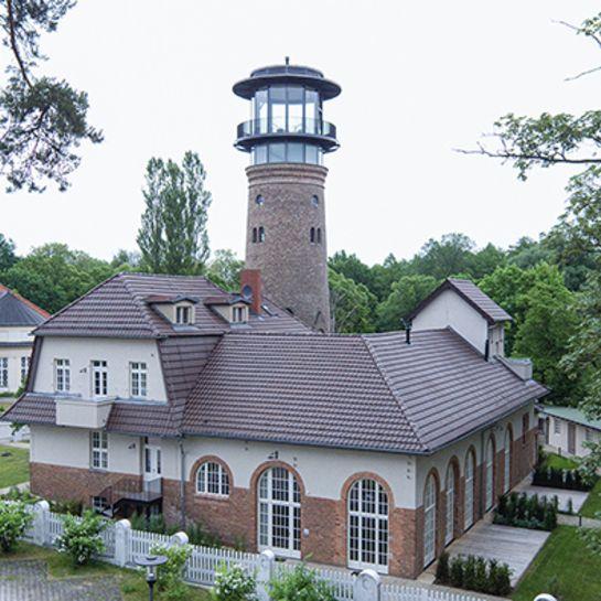 Außergewöhnlich Übernachten im Wasserwerk Bad Saarow für 2 (2 Nächte)