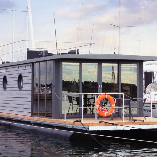 Hausboot Übernachtung Schleswig