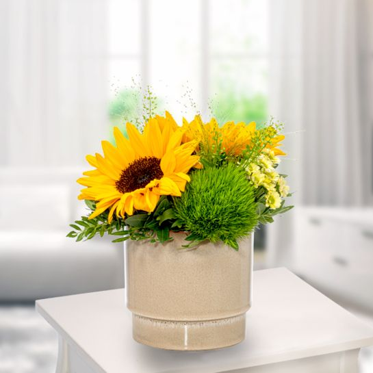 Blumenarrangement Sonnenschein