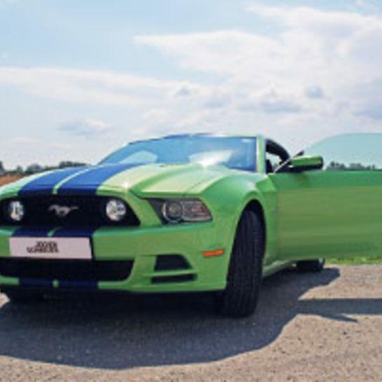 Ford Mustang GT fahren bei Wien (8 Std.)